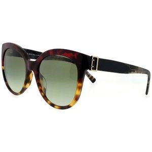 BE4243F-36358E-55 Oval Women Red Havana Sunglasses